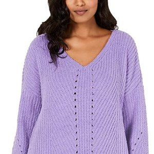 Style & Co. Chenille V-Neck Pullover Sweater